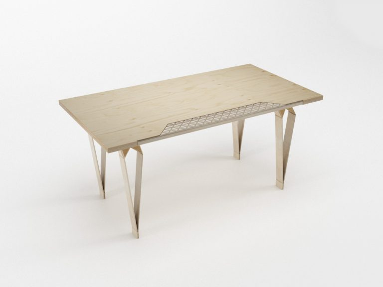 PlayWood Desk / Stefano Guerrieri