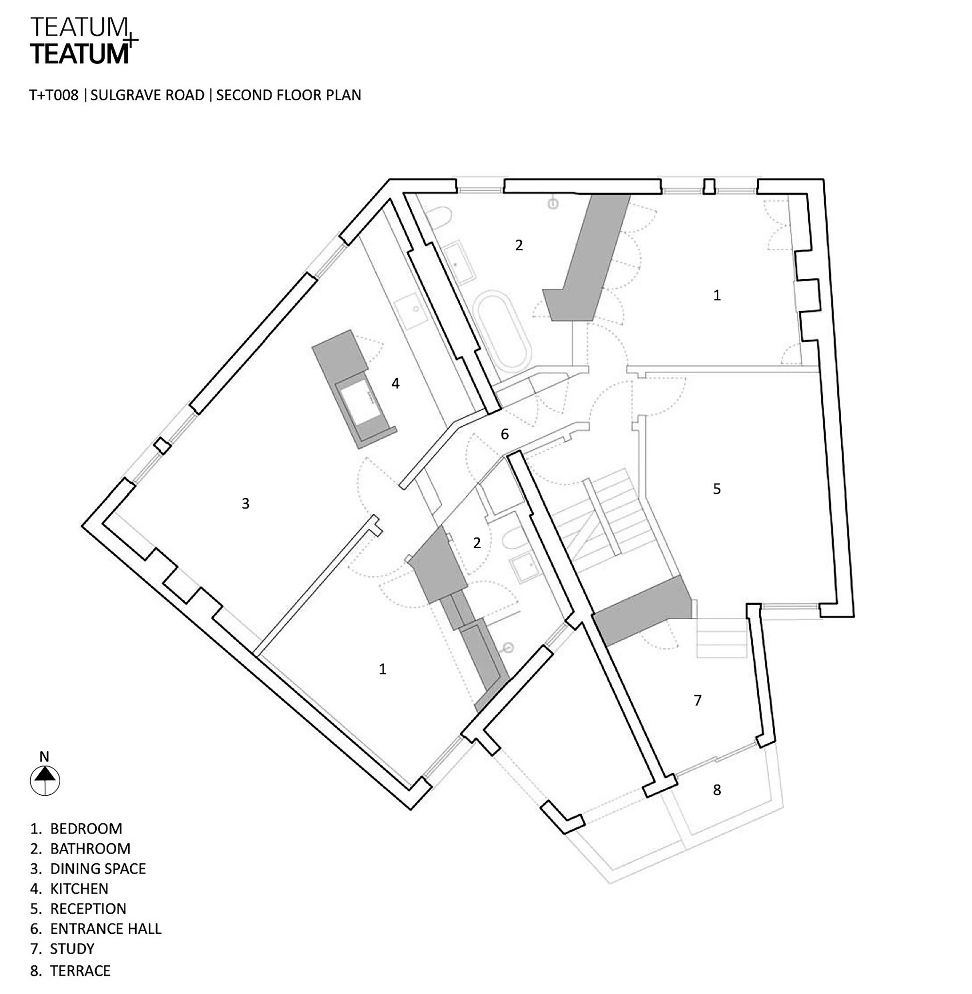Sulgrave Road Apartments / Teatum+Teatum (1)
