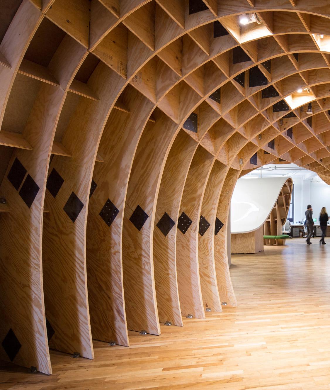 Superdesk / Clive Wilkinson Architects