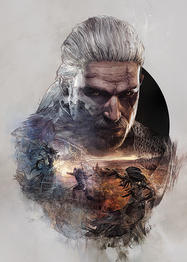The Witcher 3 – Steelbooks / StudioKxx