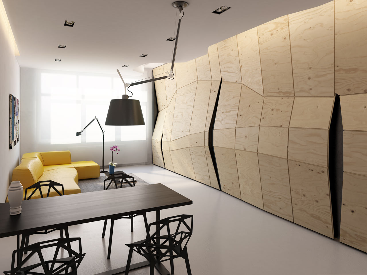 Transformer Apartment / Vlad Mishin (8)