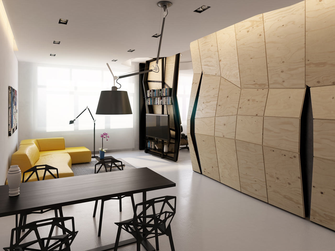 Transformer Apartment / Vlad Mishin (7)