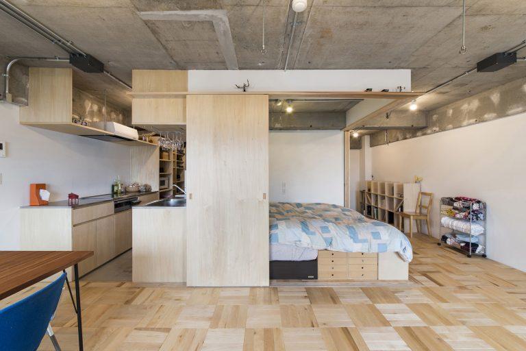Tsukiji Room H / Yuichi Yoshida associates