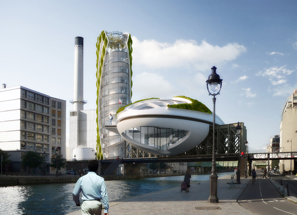 Anti Smog / Vincent Callebaut