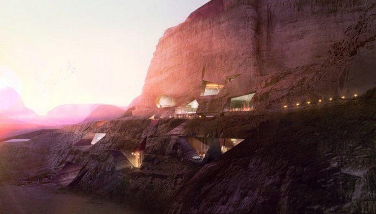 Wadi Rum Logements / Oppenheim