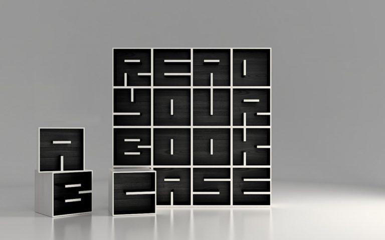 ABC Bookcase / Eva Alessandrini & Roberto Saporiti