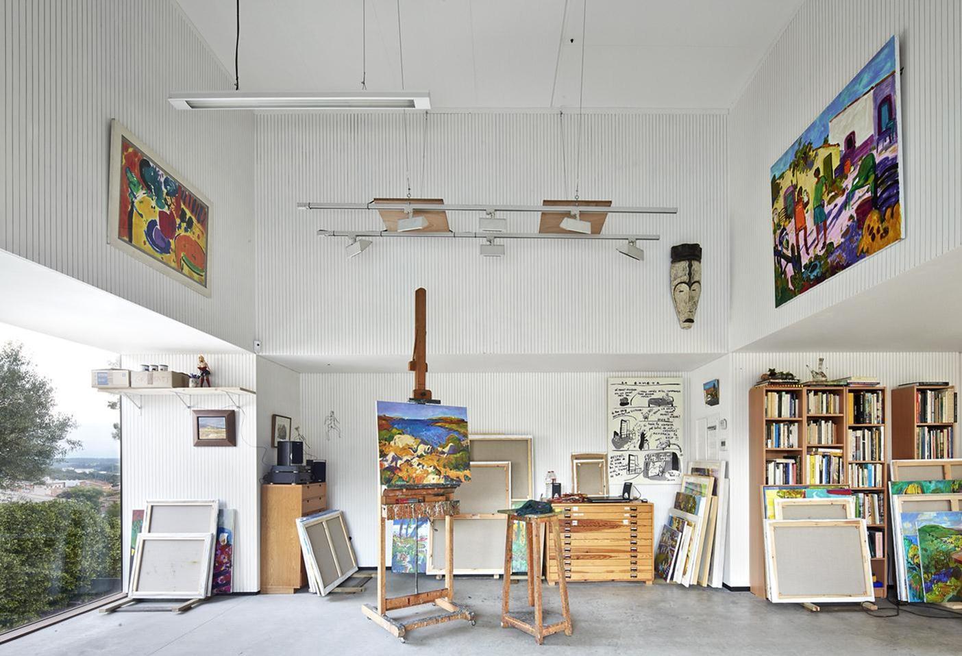 Artist's Studio / Josep Camps - Olga Felip (7)