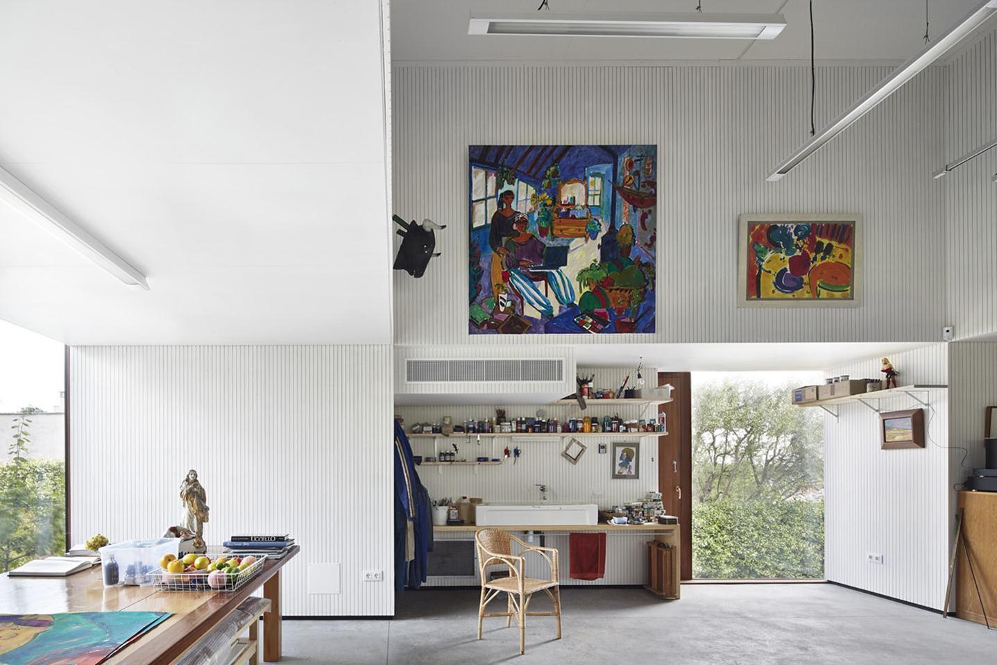 Artist's Studio / Josep Camps - Olga Felip (10)