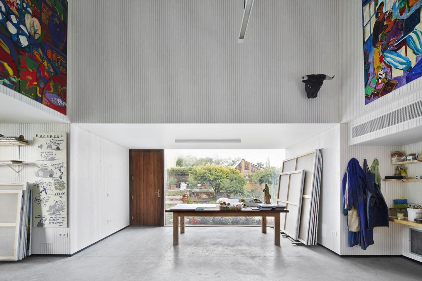 Artist's Studio / Josep Camps - Olga Felip (9)