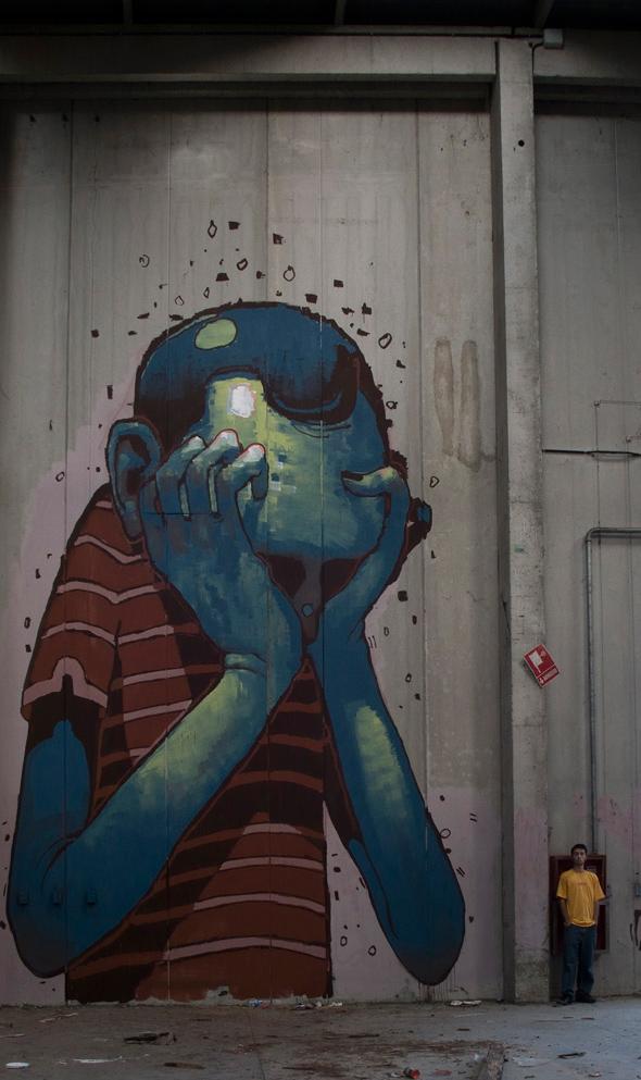 Graffitis et Illustrations / Aryz