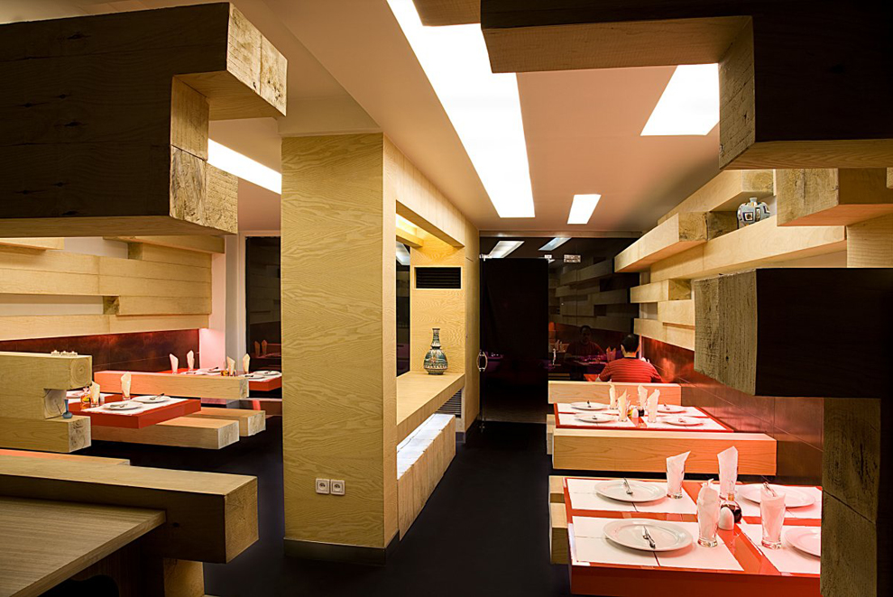 design d'espace, architecture d'intérieur, restaurant design, aménagement intérieur, agencement