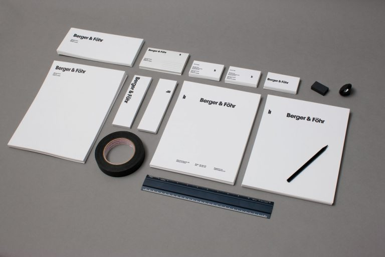 B&F Design Collateral / Berger & Föhr