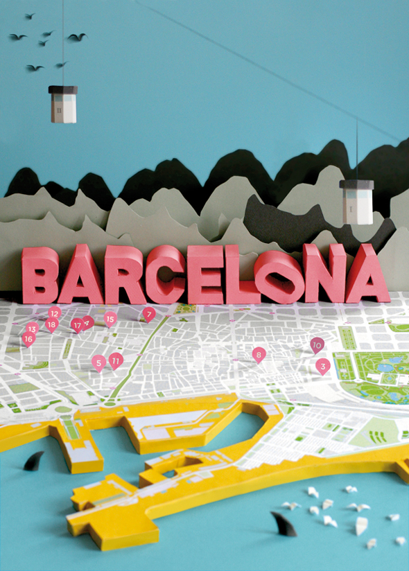Plan de Barcelone / Anna Härlin