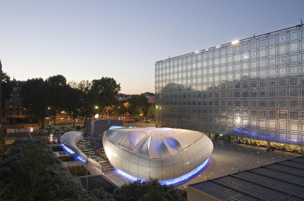 architecture institut du monde arabe
