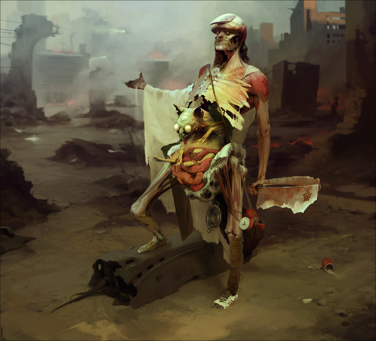 design graphique concept art sergey kolesov