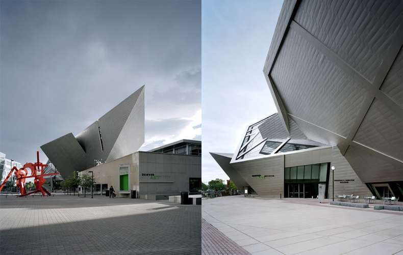 architecture Extension to the Denver Art Museum, Frederic C. Hamilton Building