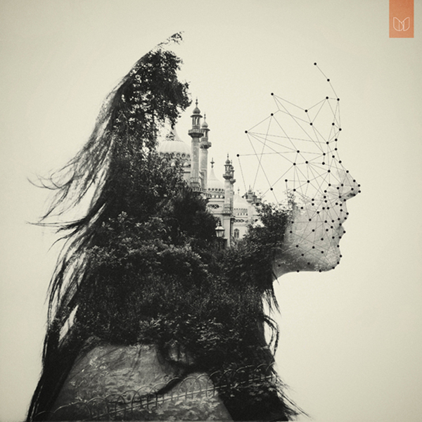 Double Exposure Portrait / Dan Mountford