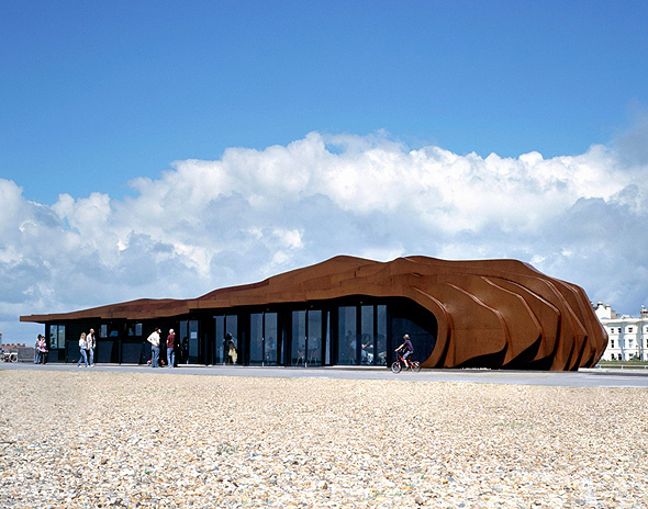 East Beach Cafe / Heatherwick Studio