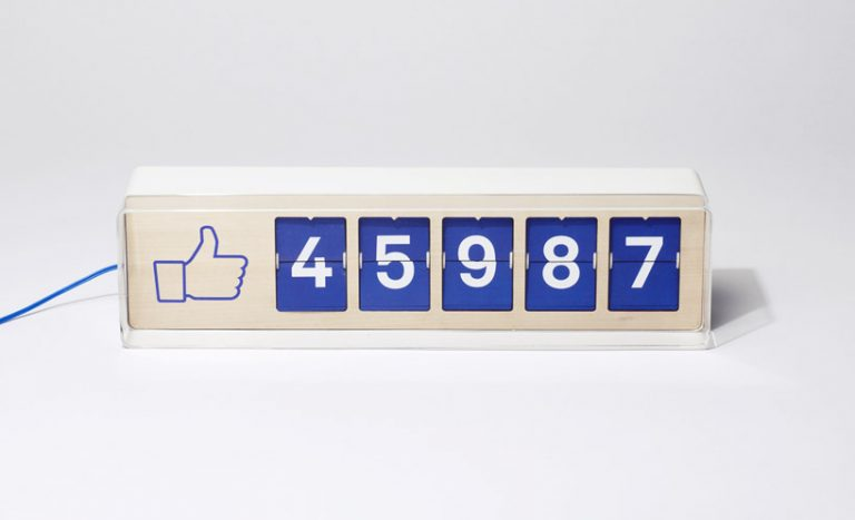 Facebook Like Counter / Smiirl