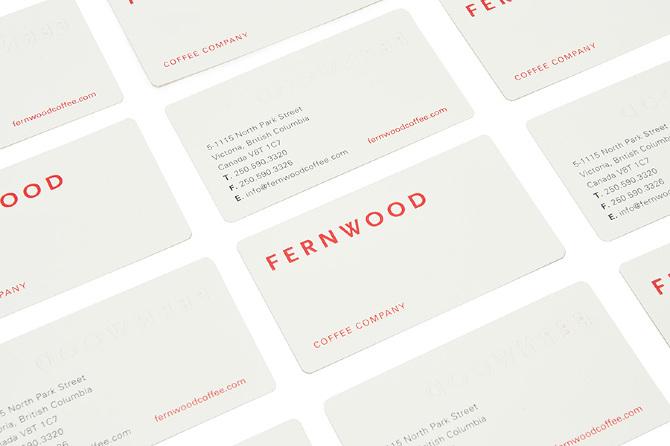 Fernwood Coffee / Glasfurd & Walker
