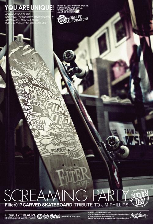 Skateboard Tribute / Filter017