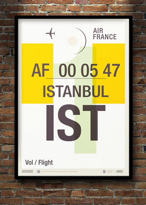 Flight Tag Prints / Neil Stevens