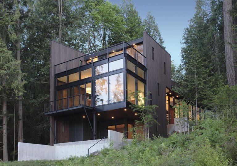 Flowing Lake Residence / David Vandervort Architects