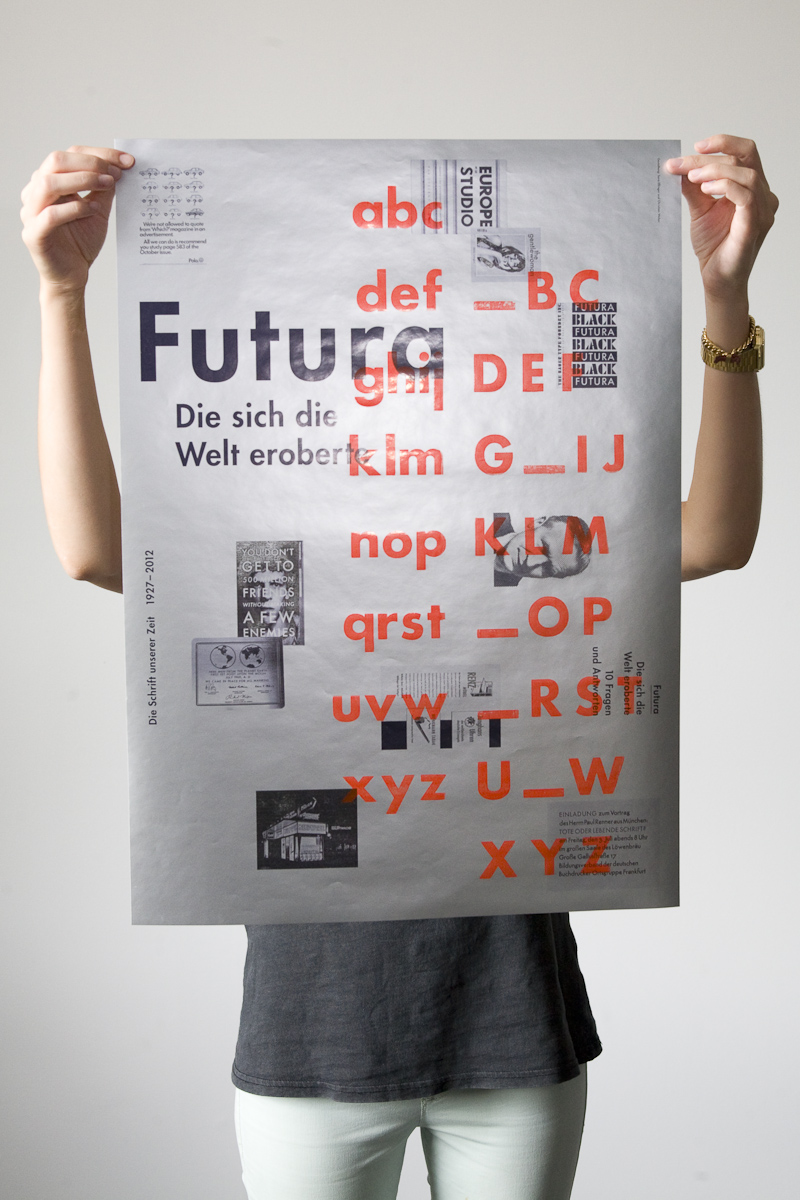 design graphique, graphic design, design, typographie, typography, font, type, font design, type design, futura, print, book
