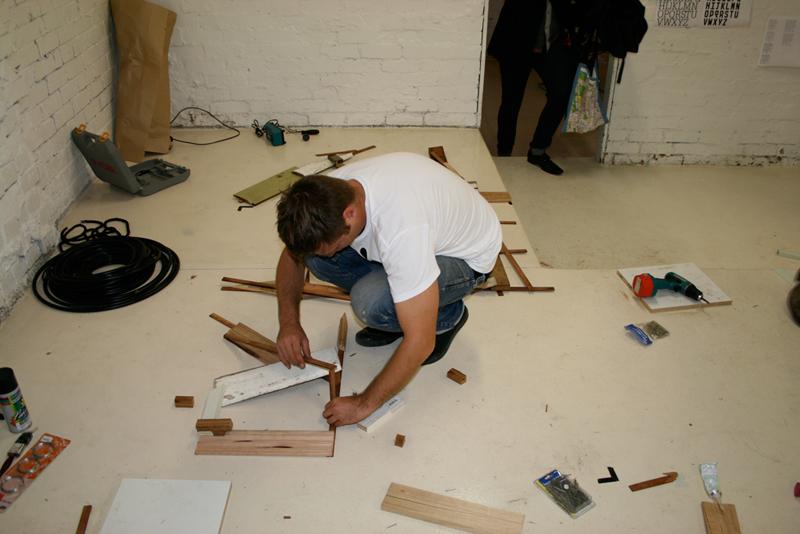 design graphique, affiche, poster, handmade, installation