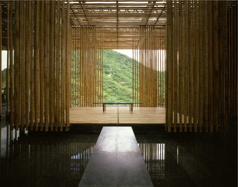 Great Bamboo Wall / Kengo Kuma & Associates