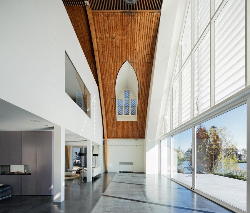 Kerkje Hillegersberg. Architect: Ruud Visser. Cell. +31(0)654723600