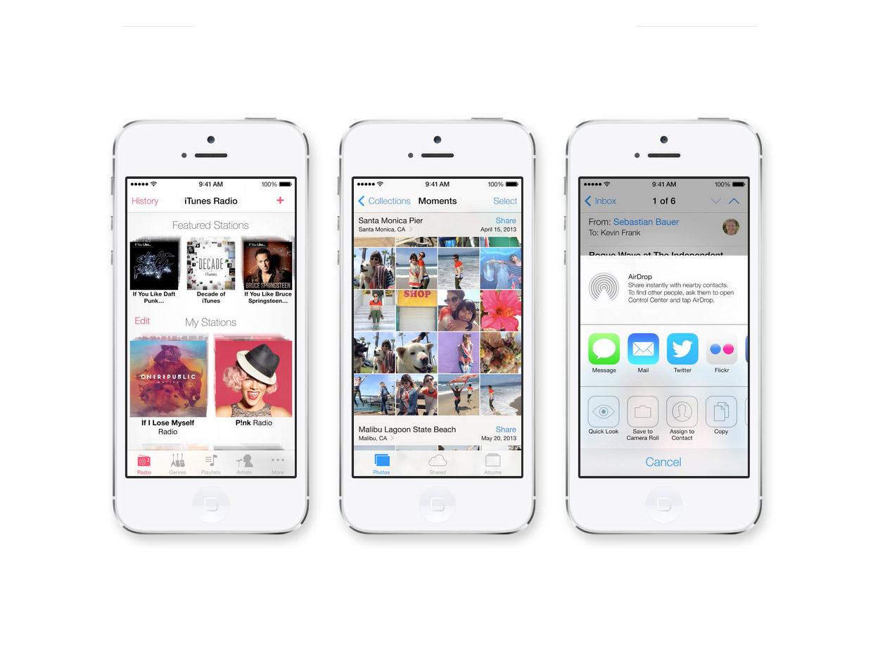 IOS7 / Apple
