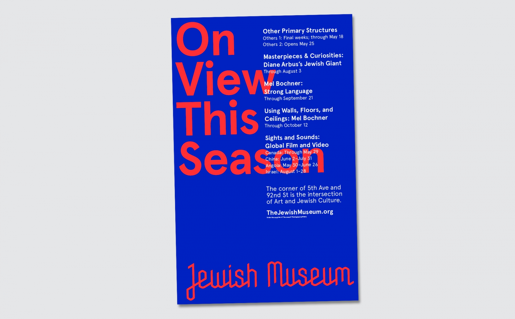 Jewish Museum / Sagmeister Walsh (10)