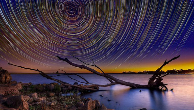 Star trails / Lincoln Harrison