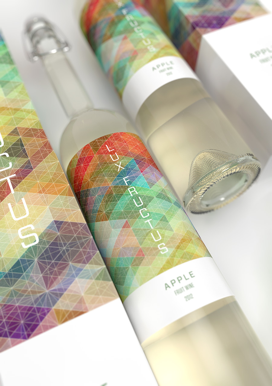lux fructus wine packaging simon page marcel buerkle