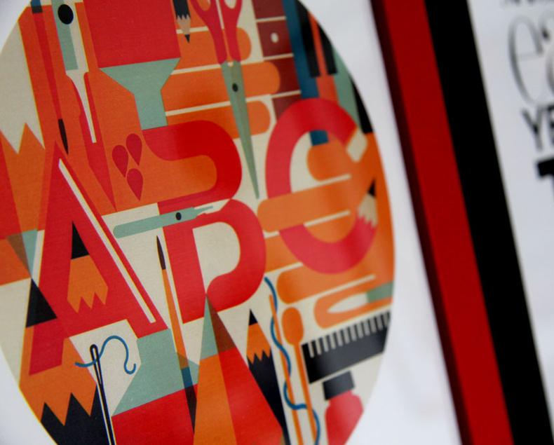 design graphique, illustration, posters, affiches, typographie