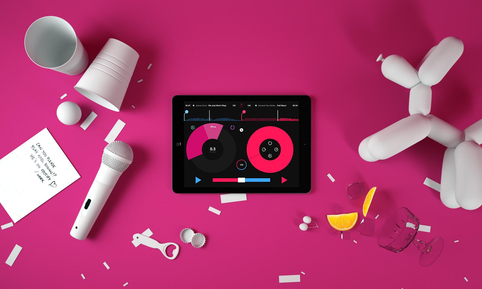 Mixer des millions de titres avec Spotify / Pacemaker
