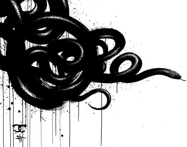 Illustration noir / Sit