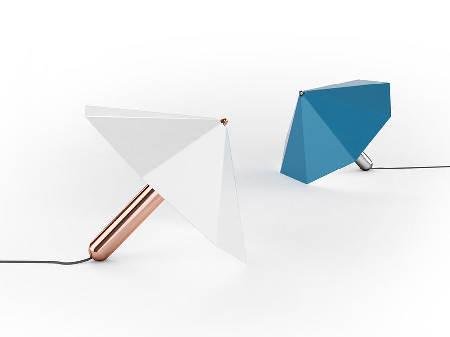 design d'objet pool lampe parasol