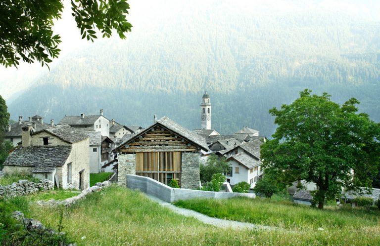 Réaménagement d'une Grange à Soglio / Ruinelli Associati Architetti