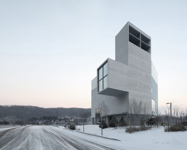 Rw Concrete Church / Nameless
