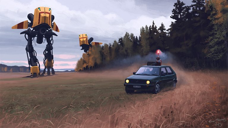 Sci-Fi Paintings / Simon Stålenhag