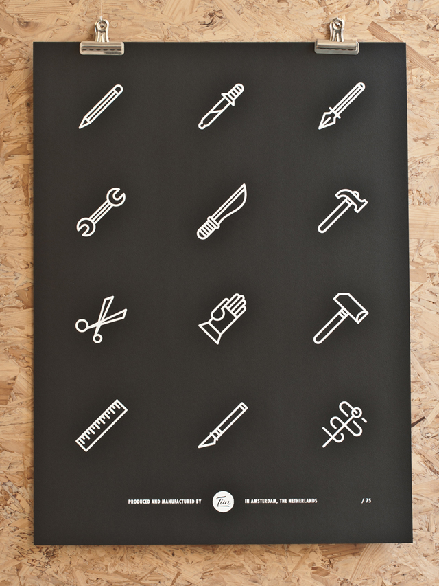 Screen Printed Posters / Tim Boelaars