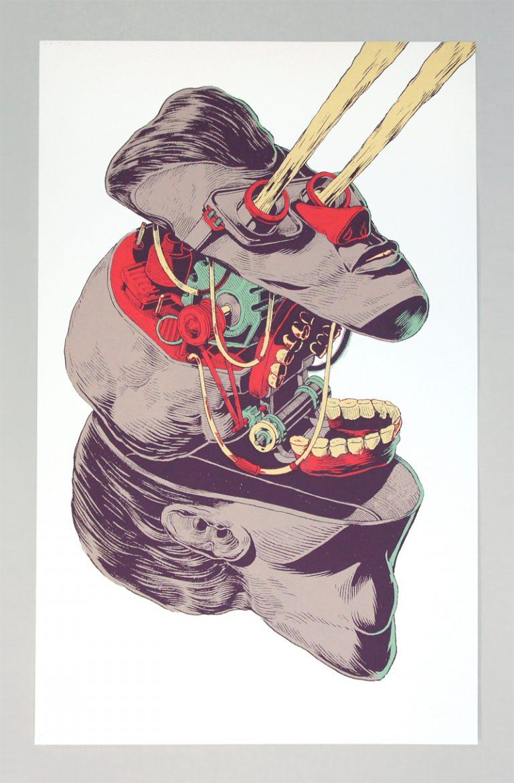 Illustrations sérigraphiées / Smithe