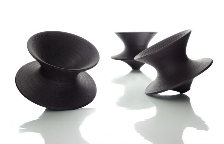 Spun chair / Thomas Heatherwick