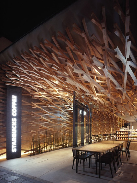 Starbucks Interior / Kengo Kuma & Associates