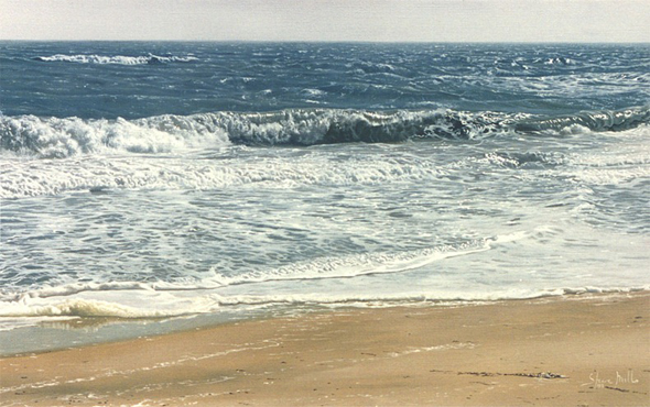 Photorealist Oil Painter