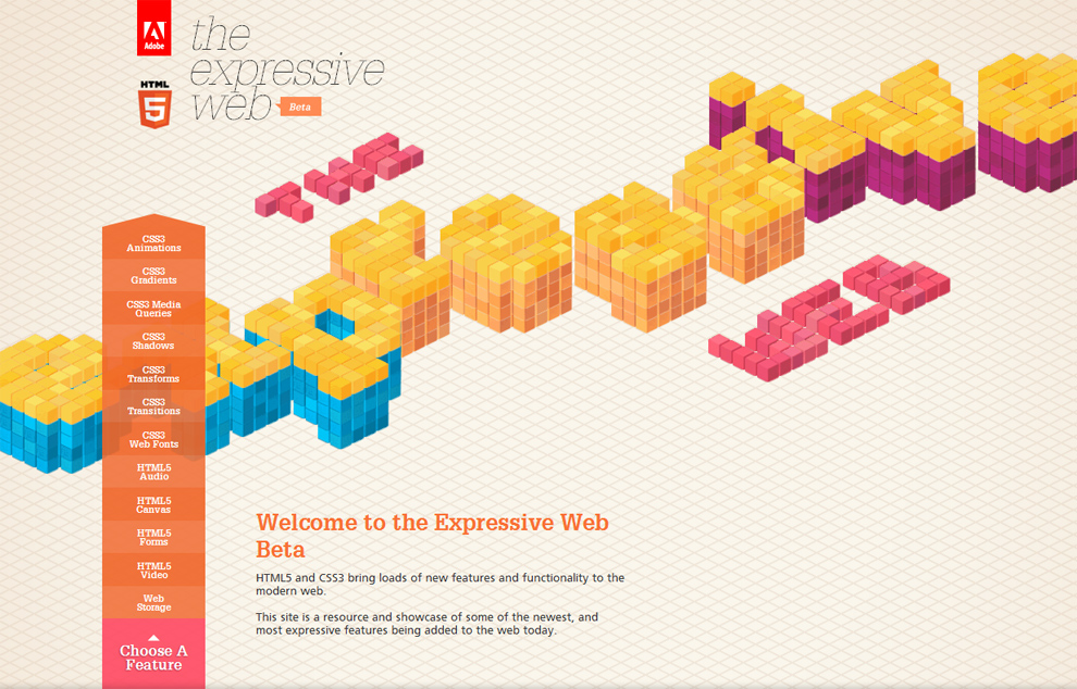 The Expressive Web / Adobe