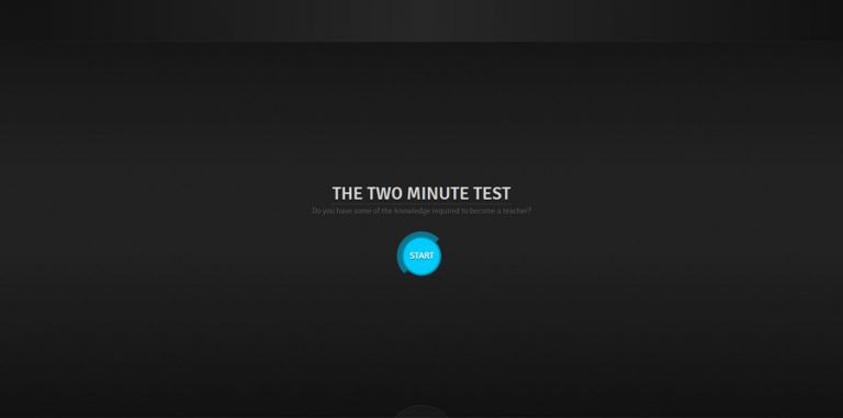 The Two Minutes Test / Apt
