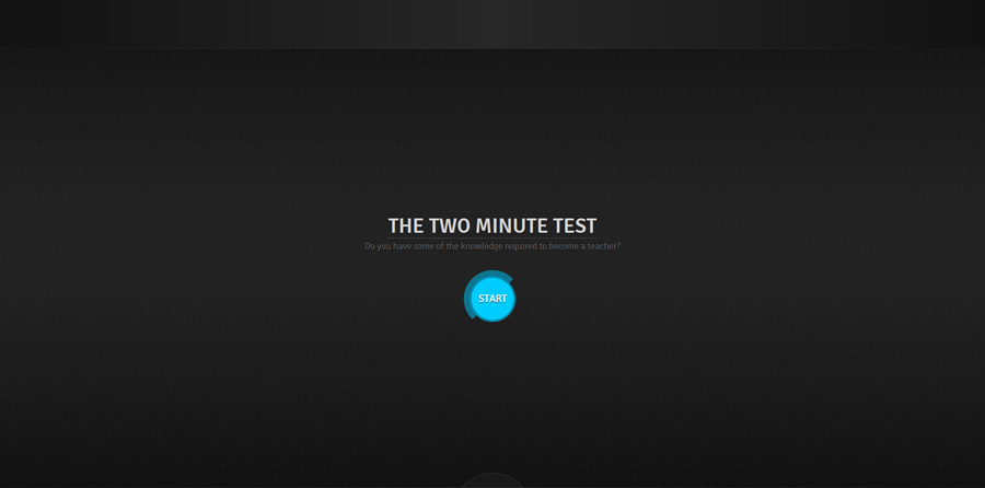 The Two Minutes Test